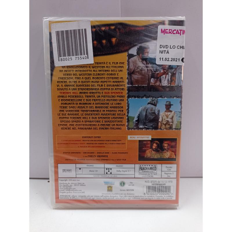 DVD LO CHIAMAVANO TRINITÀ | Mercatino dell'Usato Roma garbatella 2