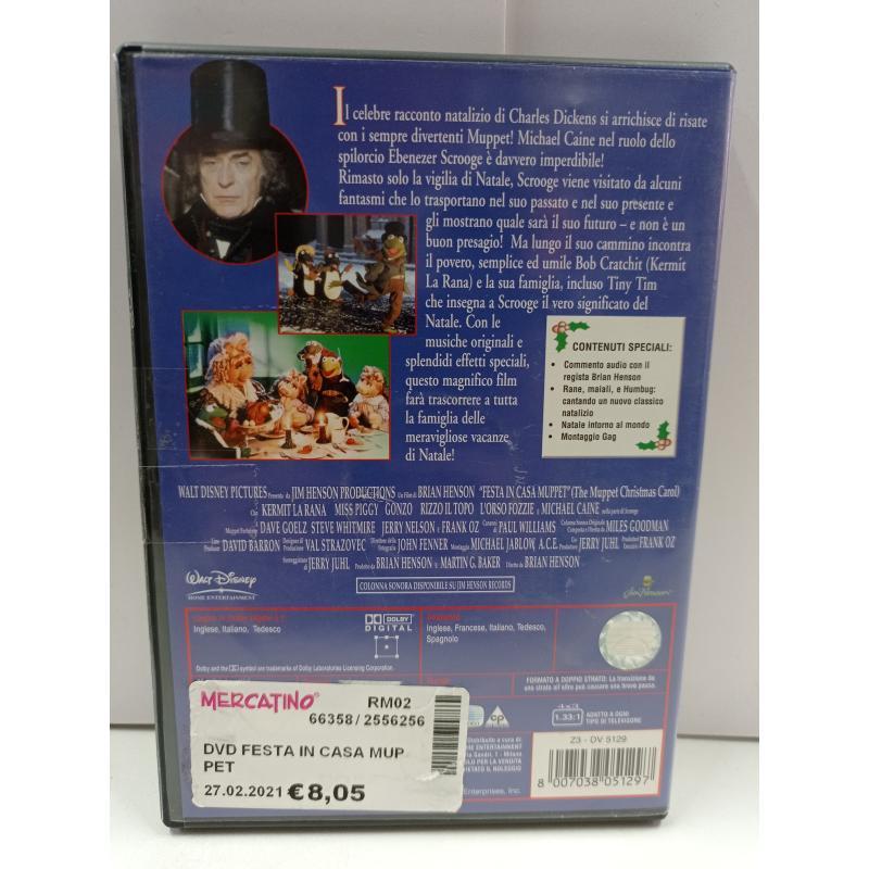 DVD FESTA IN CASA MUPPET  | Mercatino dell'Usato Roma garbatella 2