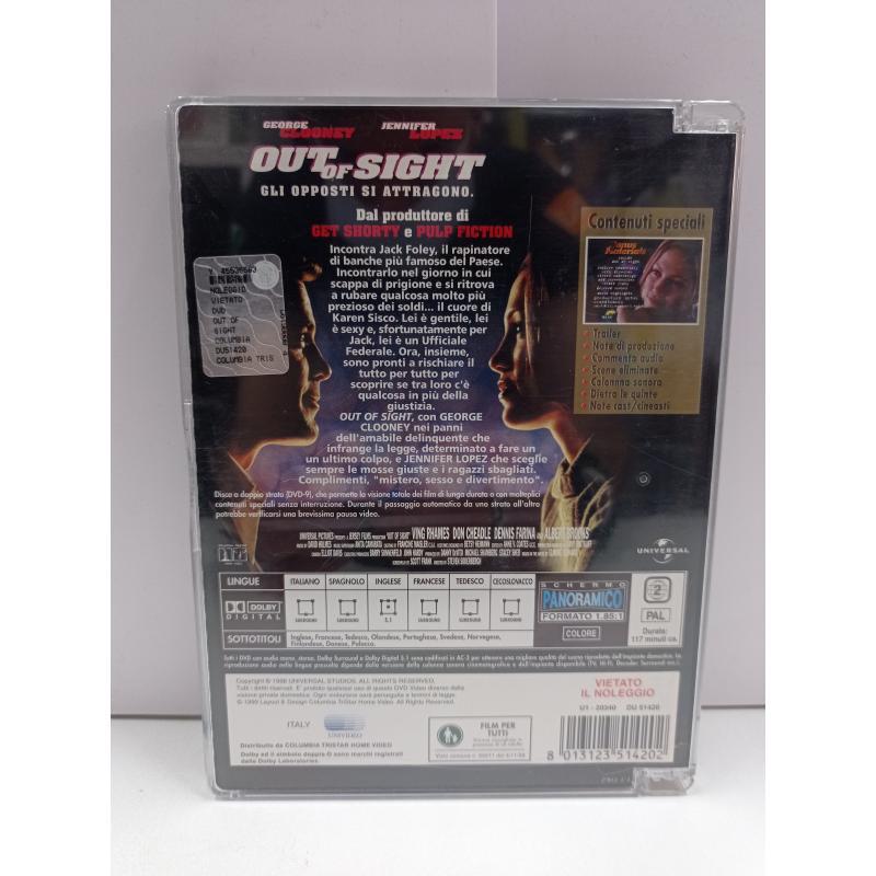 DVD OUT OF SIGHT  | Mercatino dell'Usato Roma garbatella 2