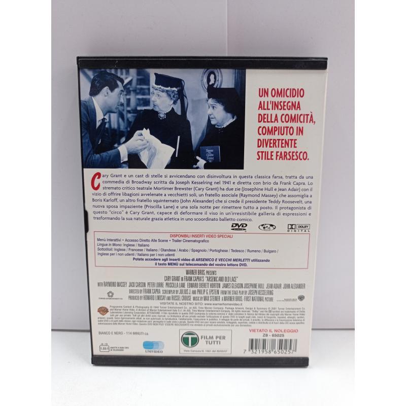 DVD ARSENICO E VECCHI MERLETTI SNAPPER | Mercatino dell'Usato Roma garbatella 2