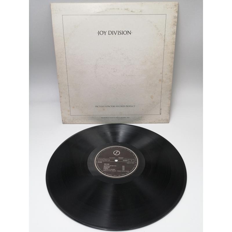 LP JOY DIVISION CLOSER  | Mercatino dell'Usato Roma garbatella 3