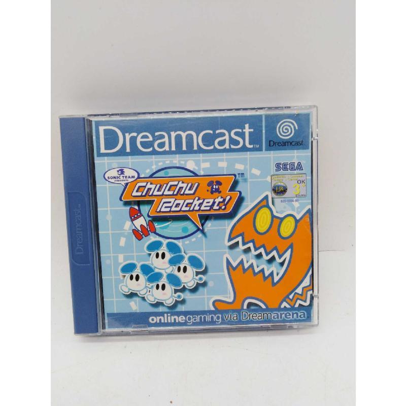 GAME DREAMCAST CHUCHI ROCKET! | Mercatino dell'Usato Roma zona marconi 1