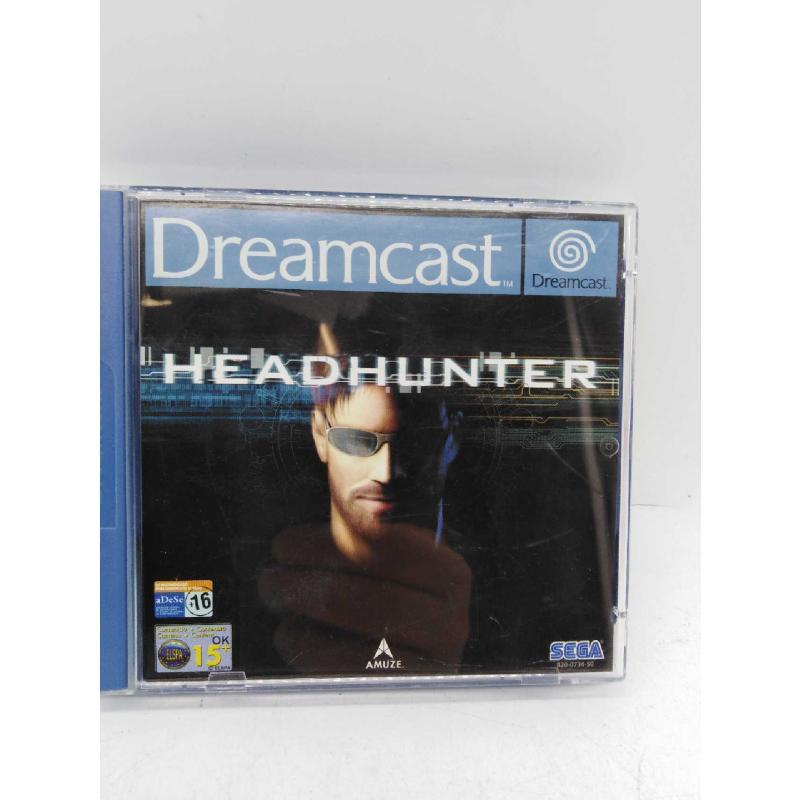 GAME DREAMCAST HEADHUNTER | Mercatino dell'Usato Roma zona marconi 1