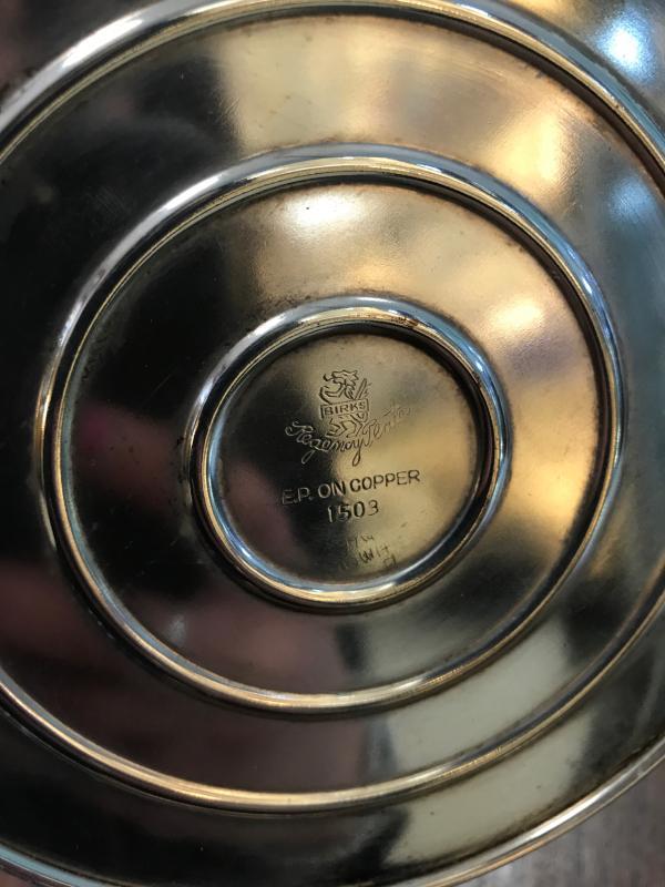 CANDELABRO VECCHIO  E.P. ON COPPER | Mercatino dell'Usato Ciampino 2