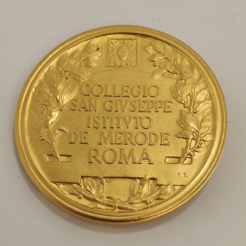 MEDAGLIA DE LA SALLE FUNDATOR SCHOLARUM CHRISTIANARUM   Mercatino dell'Usato Roma porta maggiore 2