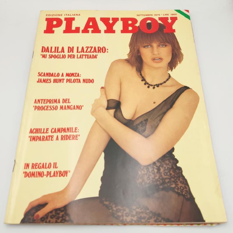 PLAYBOY DALILA DI LAZZARO 1976   Mercatino dell'Usato Roma porta maggiore 1
