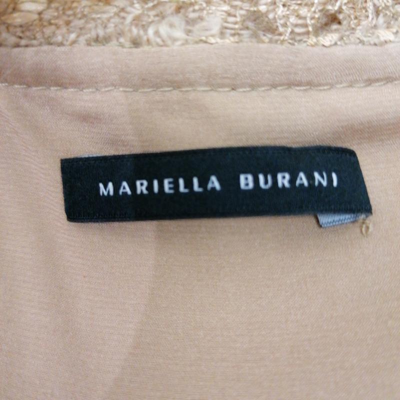 VESTITO MARIELLA BURANI D BEIGE MM MACRA TRAFO | Mercatino dell'Usato Roma porta maggiore 4
