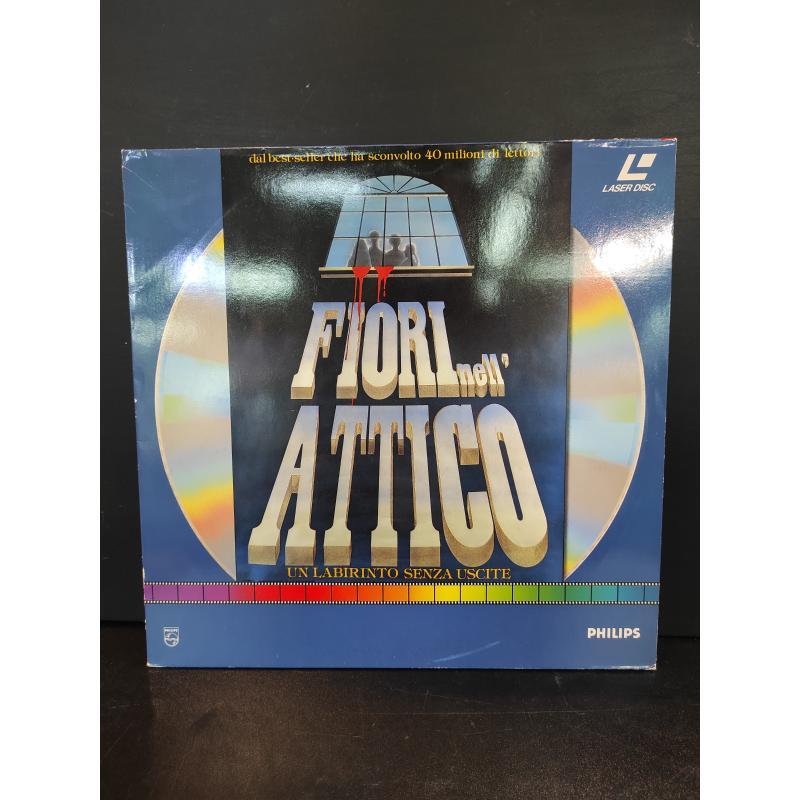 LASER DISC FILM FIORI NELL'ATTICO | Mercatino dell'Usato Roma monteverde 1