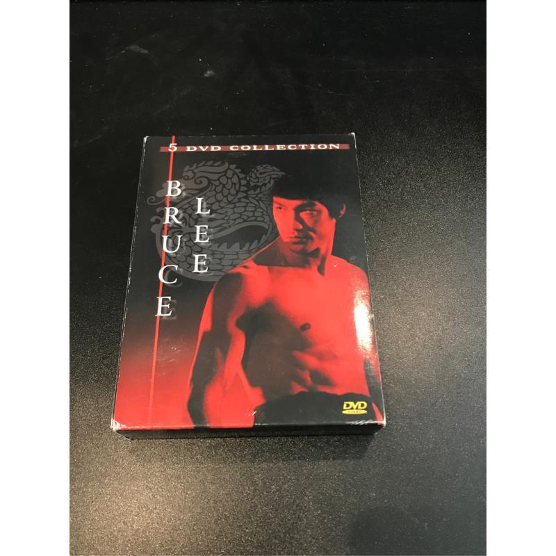 DVD BRUCEE LEE 5DVD    Mercatino dell'Usato Roma monteverde 1
