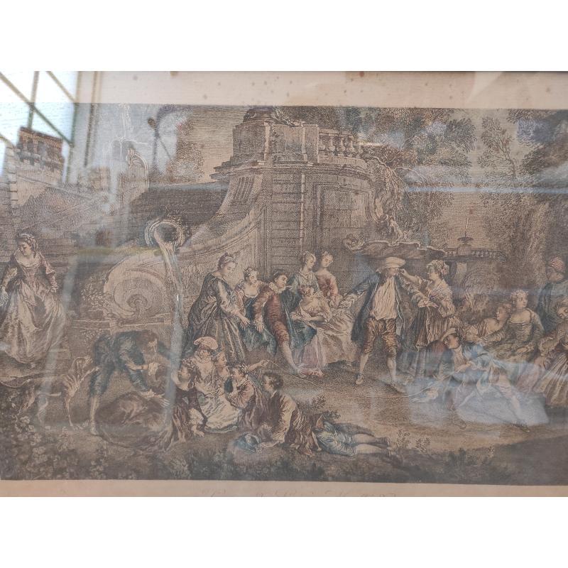 INCISIONE FRANCESE D'EPOCA PRIMI 900 | Mercatino dell'Usato Roma monteverde 2