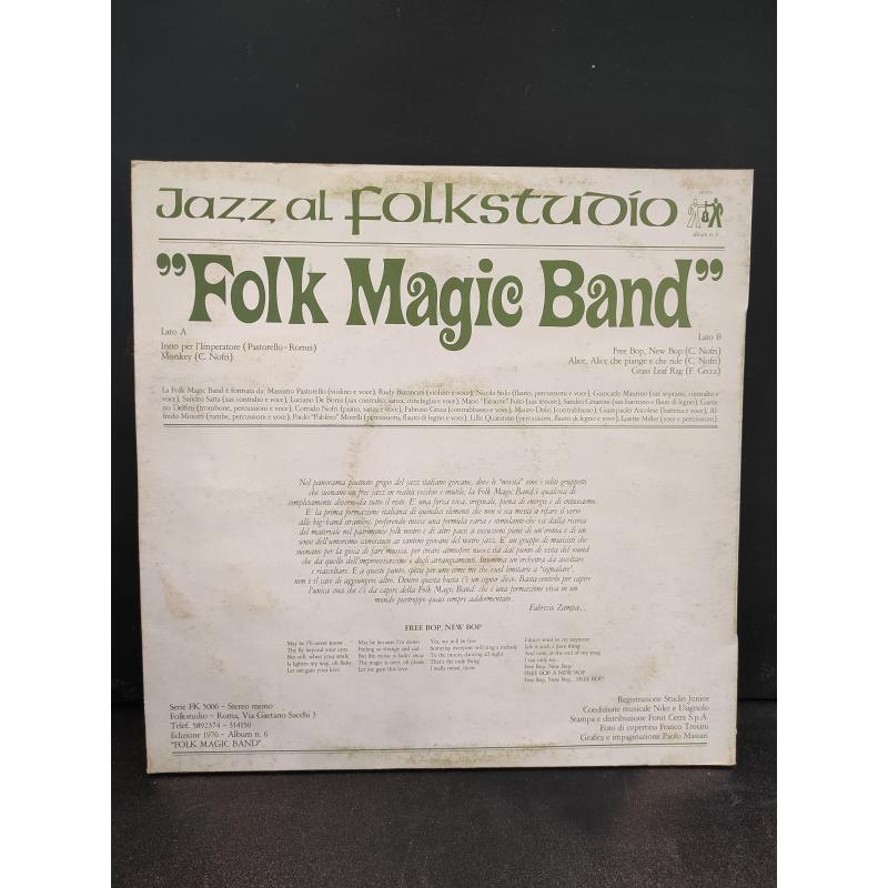 33 FOLK MAGIC BAND JAZZ AL FOLKSTUDIO | Mercatino dell'Usato Roma monteverde 2