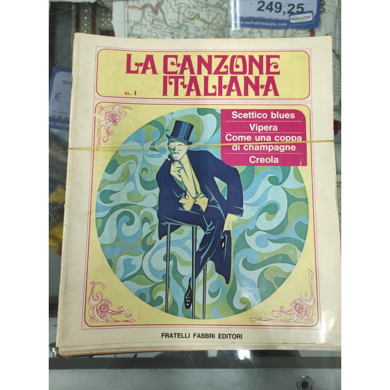 CANZONE ITALIANA - FABBRI EDITORE | Mercatino dell'Usato Roma monteverde 1