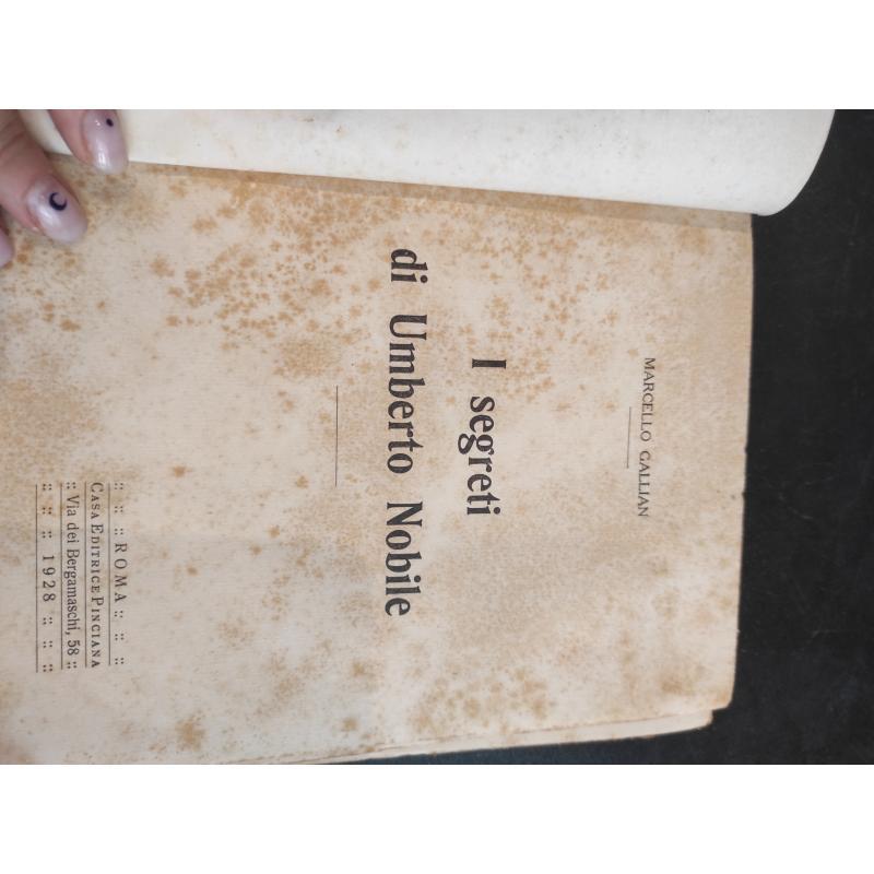 I SEGRETI DI UMBERTO NOBILE 1928 | Mercatino dell'Usato Roma monteverde 3