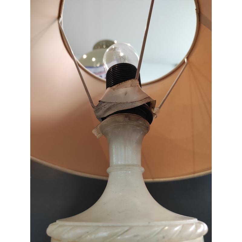 LAMPADA ALABASTRO DEC FOGLIE 1L | Mercatino dell'Usato Roma monteverde 3