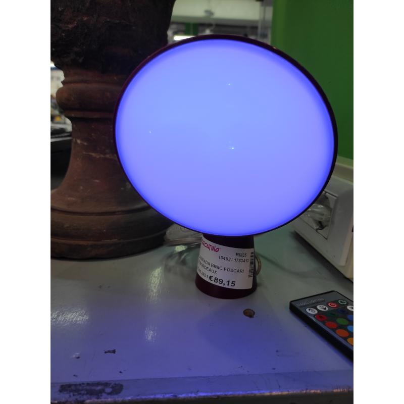 LAMPADA BINIC FOSCARINI BORDEAUX | Mercatino dell'Usato Roma monteverde 3