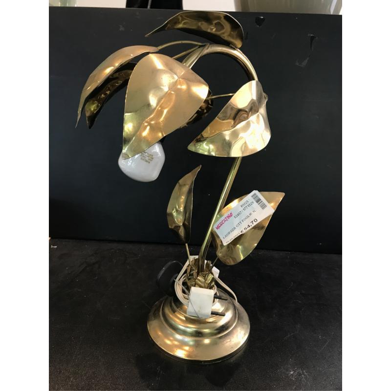 LAMPADA OTT FOGLIE 1L | Mercatino dell'Usato Roma monteverde 1