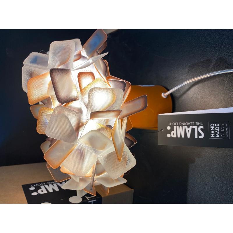 LAMPADA SLAMP CLIZIA ARANCIO  | Mercatino dell'Usato Roma monteverde 1