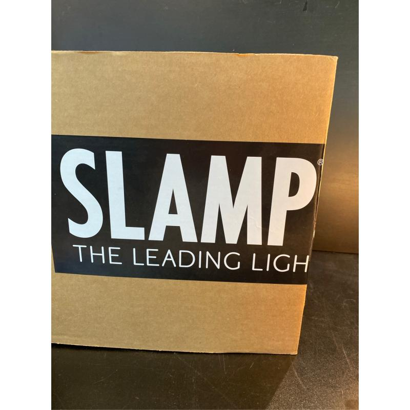 LAMPADA SLAMP CLIZIA ARANCIO  | Mercatino dell'Usato Roma monteverde 3