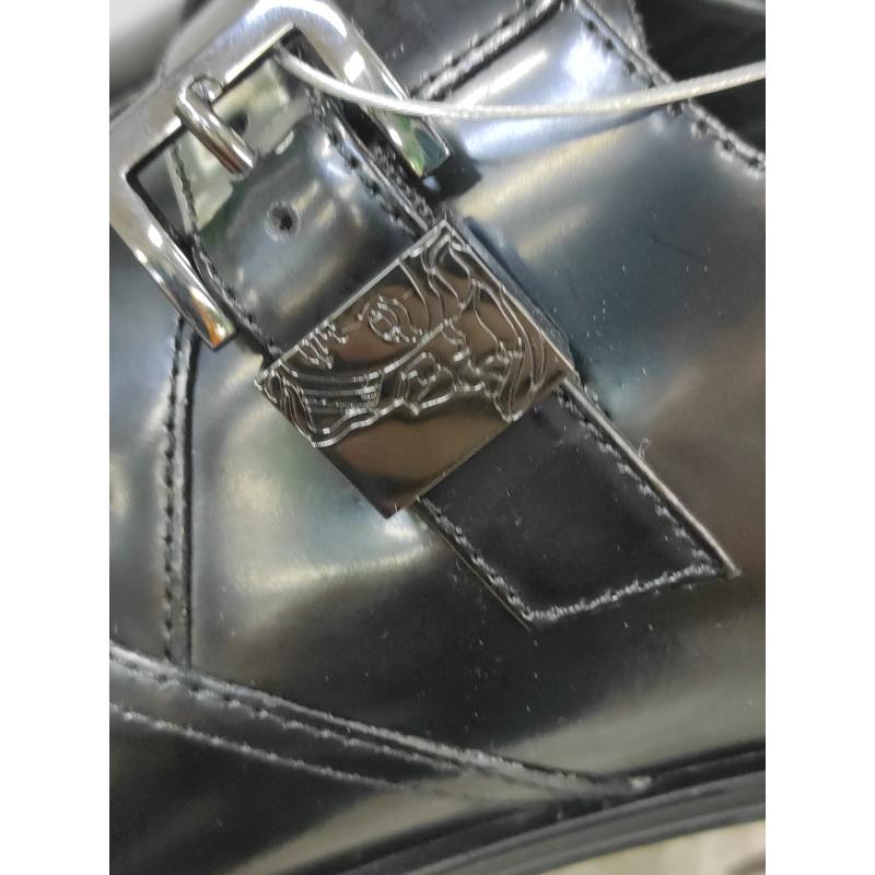 SCARPE UOMO VERSACE NERO 29   Mercatino dell'Usato Roma monteverde 3