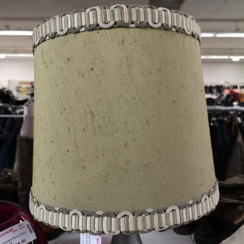 LAMPADA PORTA LUME VERDE BASE IN PELTRO SOLE | Mercatino dell'Usato Colleferro 3