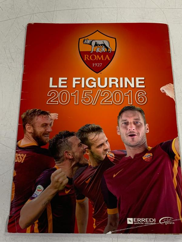 ALBUM LE FIGURINE AS ROMA 2015/2016 | Mercatino dell'Usato Roma montemario 1