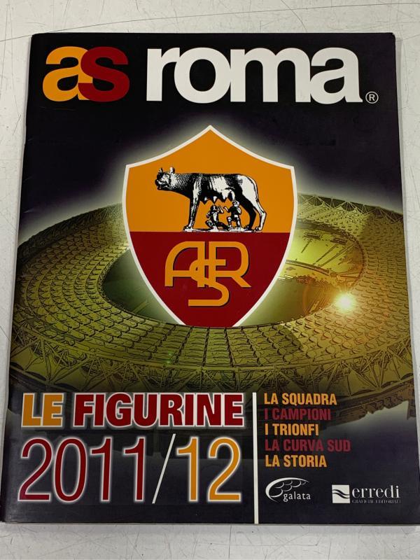 ALBUM LE FIGURINE AS ROMA 2011/2012 | Mercatino dell'Usato Roma montemario 1