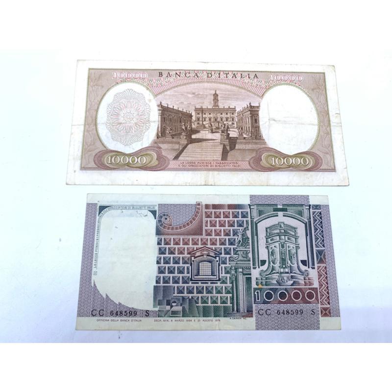 COPPIA BANCONOTE DA 10000 LIRE | Mercatino dell'Usato Roma montemario 2