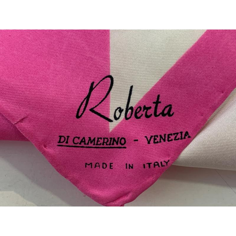 FOULARD ROSA ROBERTA DI CAMERINO STELLA CELESTE | Mercatino dell'Usato Roma montemario 2