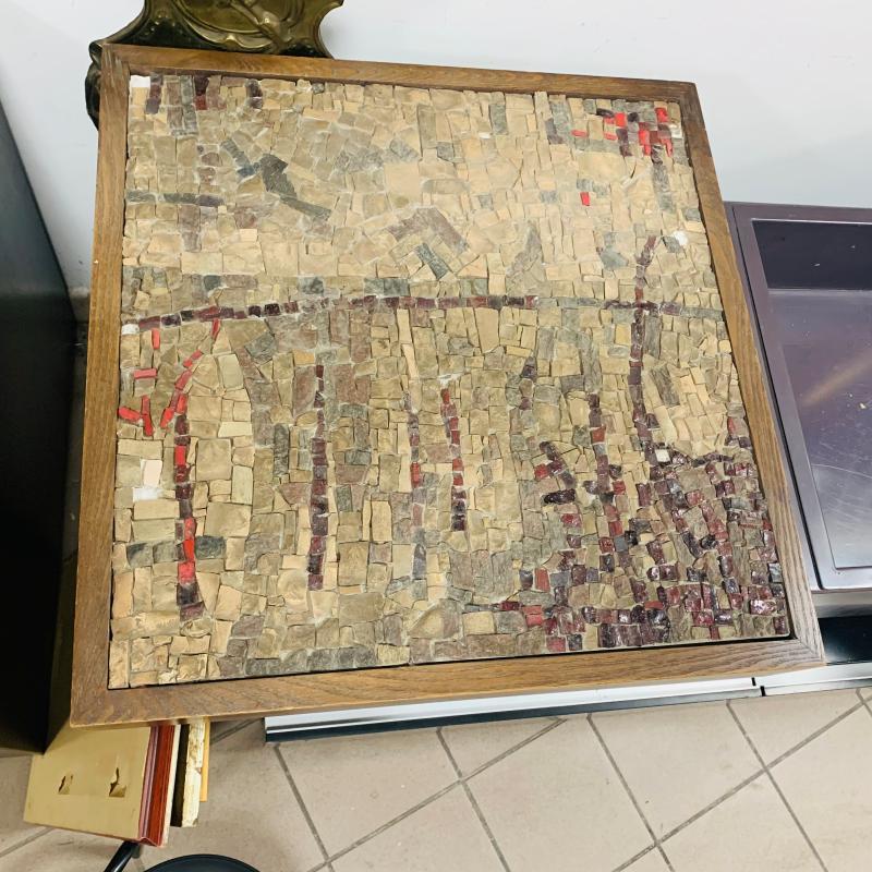TAVOLO SALOTTO MOSAICATO | Mercatino dell'Usato Roma montemario 5