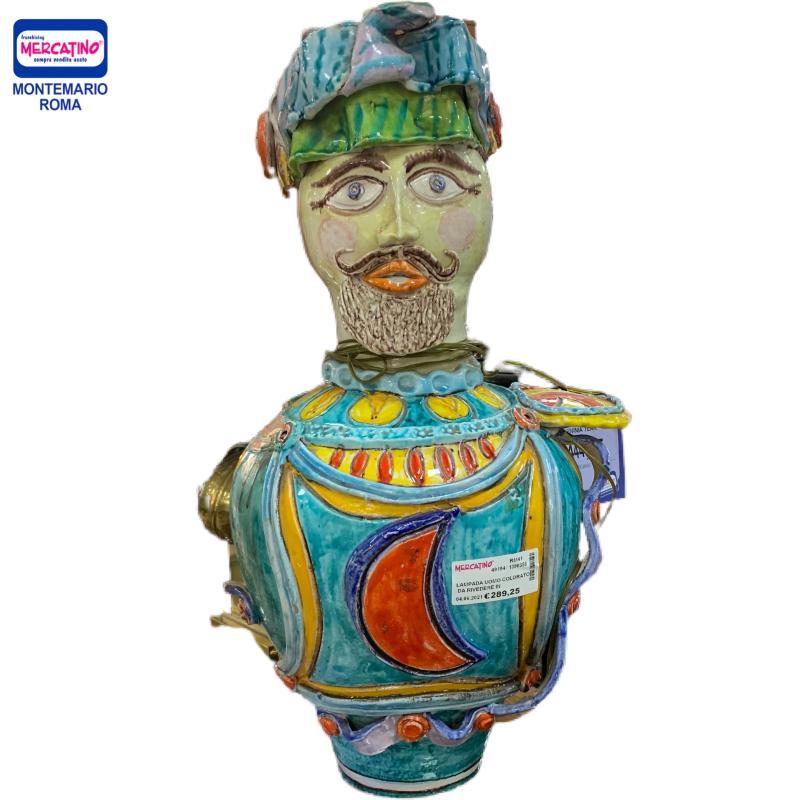 LAMPADA UOMO COLORATO DA RIVEDERE IN PIU PUNTI   Mercatino dell'Usato Roma montemario 1
