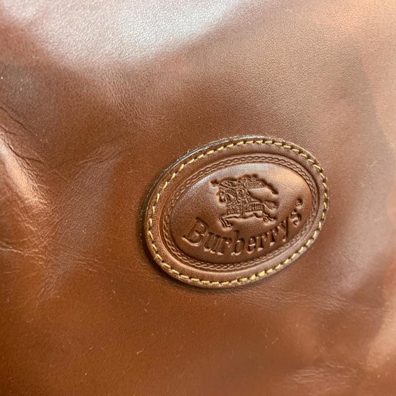BORSONE MARRONE BURBERRYS | Mercatino dell'Usato Roma montemario 5
