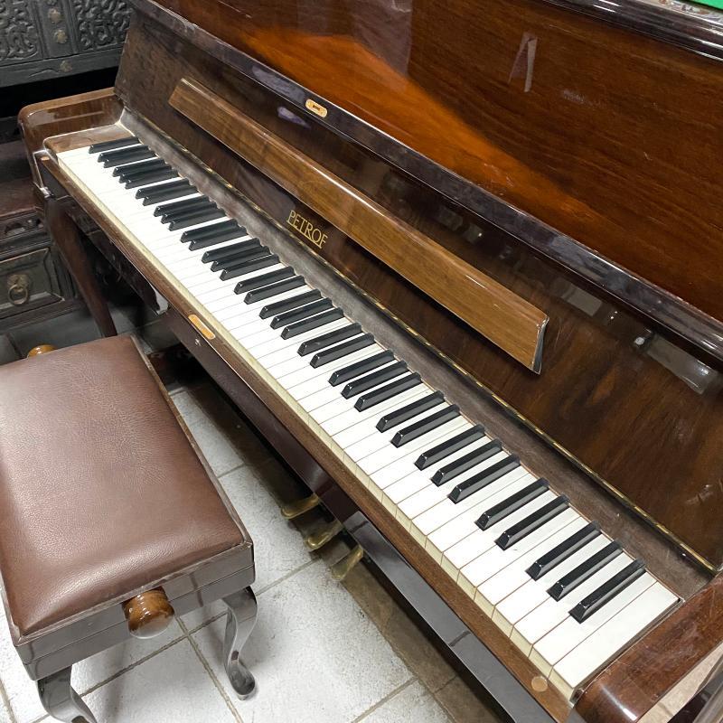 PIANOFORTE MARRONE+PUFF   Mercatino dell'Usato Roma montemario 3