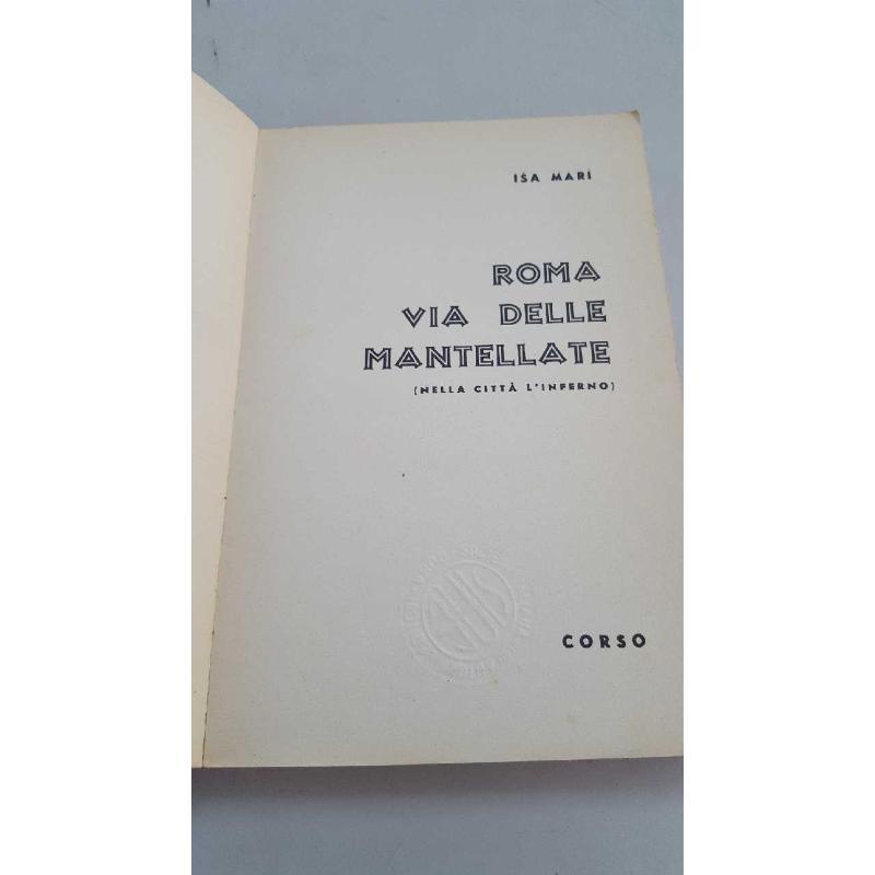 ROMA VIA DELLE MANTELLATE ISA MARI ED. CORSO | Mercatino dell'Usato Roma porta di roma 2