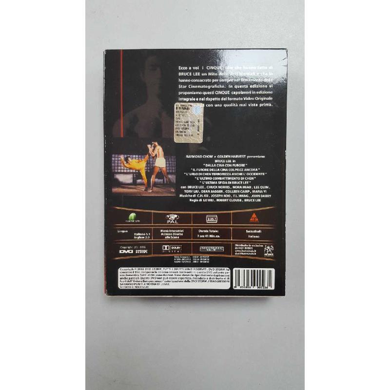 DVD BRUCE LEE COLLECTION | Mercatino dell'Usato Roma porta di roma 2