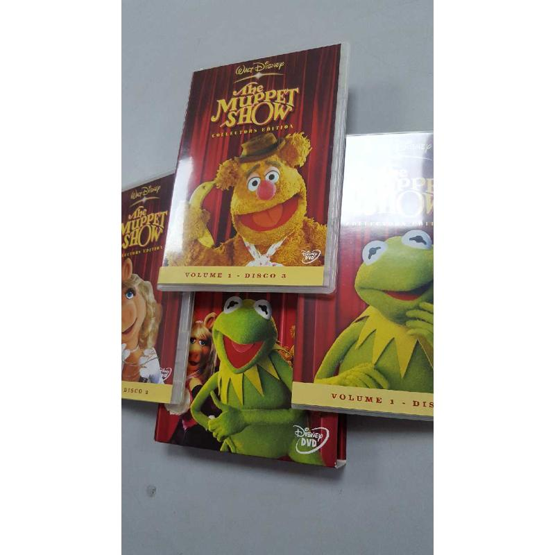 DVD THE MUPPET SHOW COLLECTION EDIT | Mercatino dell'Usato Roma porta di roma 3