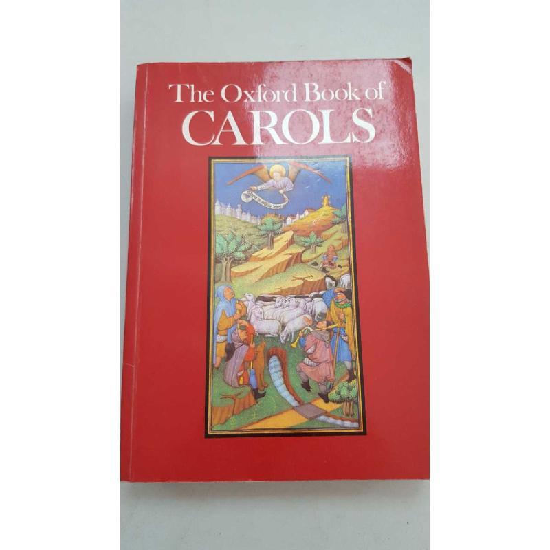 OXFORD BOOK OF CAROLS   Mercatino dell'Usato Roma porta di roma 1