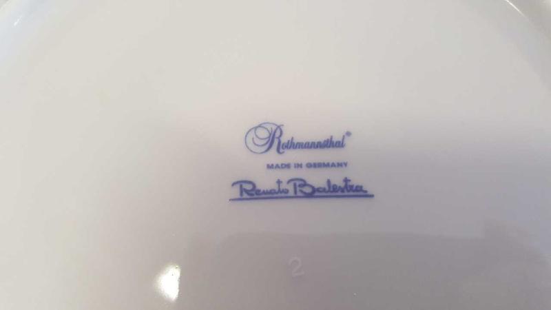 SERV. PIATTI ROTHMANNSTHAL BALESTRA PZ. 34 | Mercatino dell'Usato Roma casalotti 2