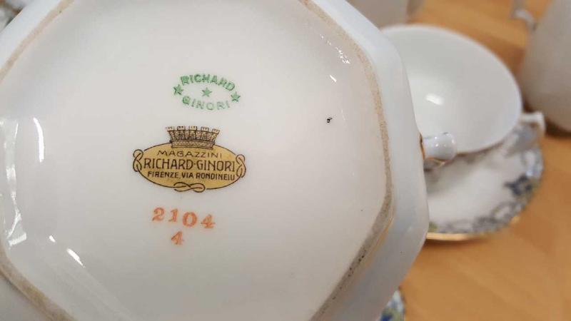 RICHARD GINORI 2104 4 SERVIZIO DA 6 | Mercatino dell'Usato Roma casalotti 3