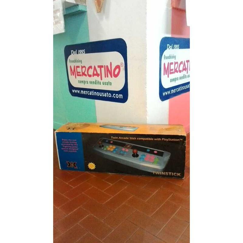 TWINSTICK TWIN ARCADE STICK PLAY STATION    Mercatino dell'Usato Roma casalotti 1
