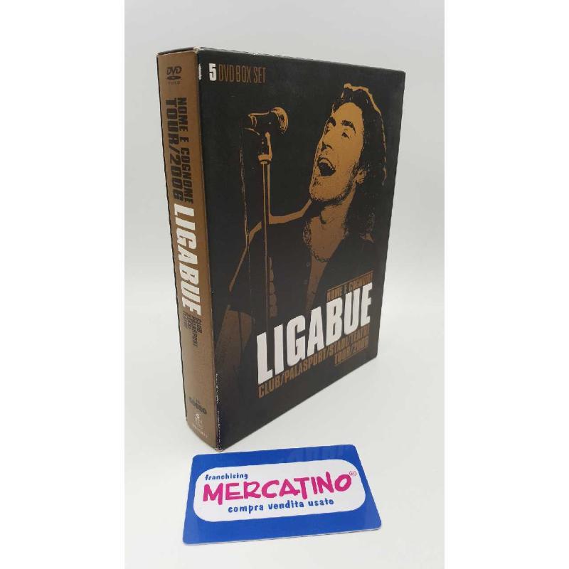 DVD LIGABUE - NOME E COGNOME TOUR 2006 | Mercatino dell'Usato Roma casalotti 1