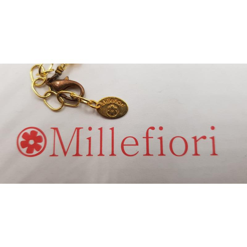 PARURE MILLEFIORI COLLANA+BRACCIALE+ORECCHINI   Mercatino dell'Usato Roma casalotti 2