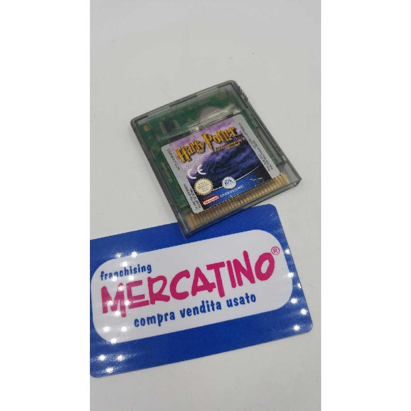 GIOCO GAME BOY HARRY POTTER PIETRA FILOSOFALE | Mercatino dell'Usato Roma casalotti 1