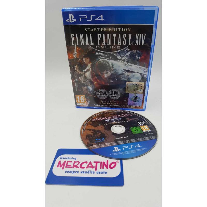 PS4 GIOCO FINAL FANTASY XIV STARTER EDITION   Mercatino dell'Usato Roma casalotti 1