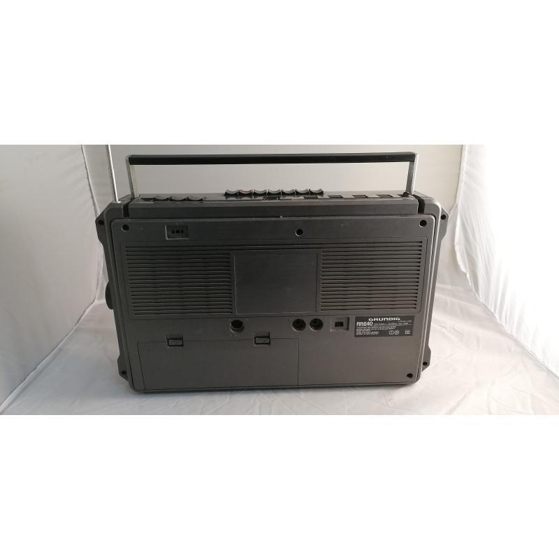 RADIO GRUNDIG RR640 CASSETTE DA RIVEDERE | Mercatino dell'Usato Pomezia 3