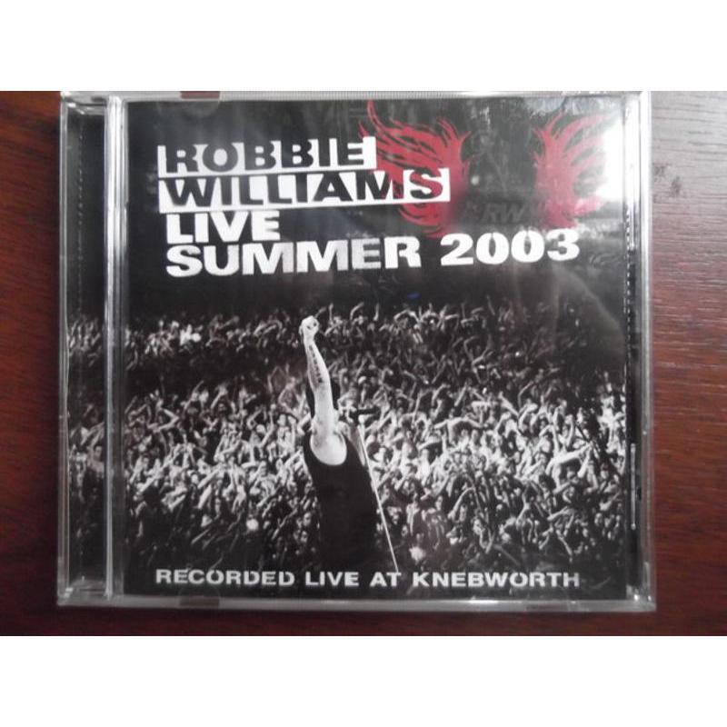ROBBIE WILLIAMS - LIVE SUMMER 2003 | Mercatino dell'Usato Pomezia 1