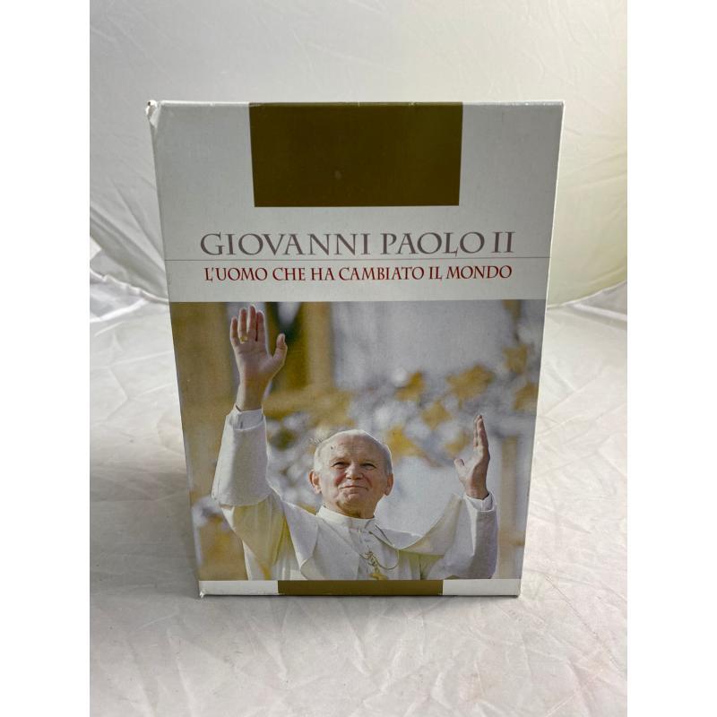 COFANETTO DVD GIOVANNI PAOLO II | Mercatino dell'Usato Pomezia 1