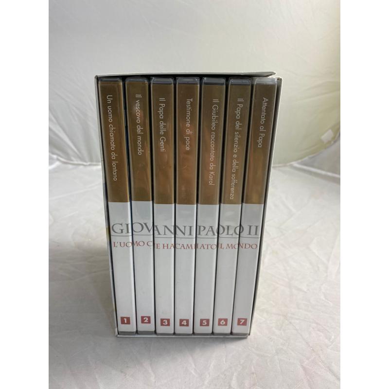 COFANETTO DVD GIOVANNI PAOLO II | Mercatino dell'Usato Pomezia 2