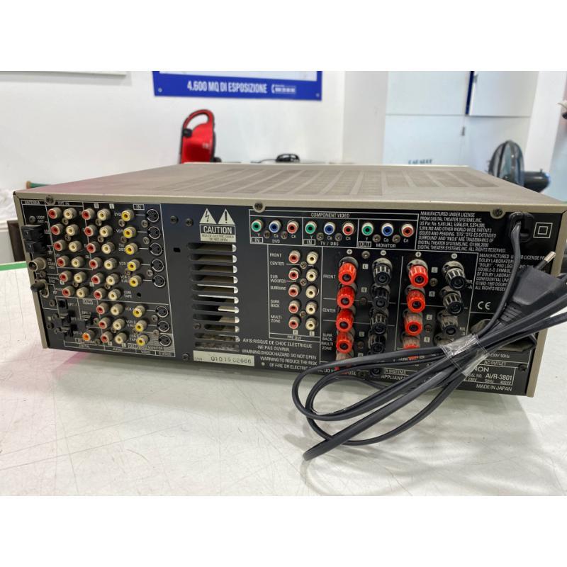 AMPLIFICATORE DENON SURROUND AVR 3801 | Mercatino dell'Usato Roma somalia 3