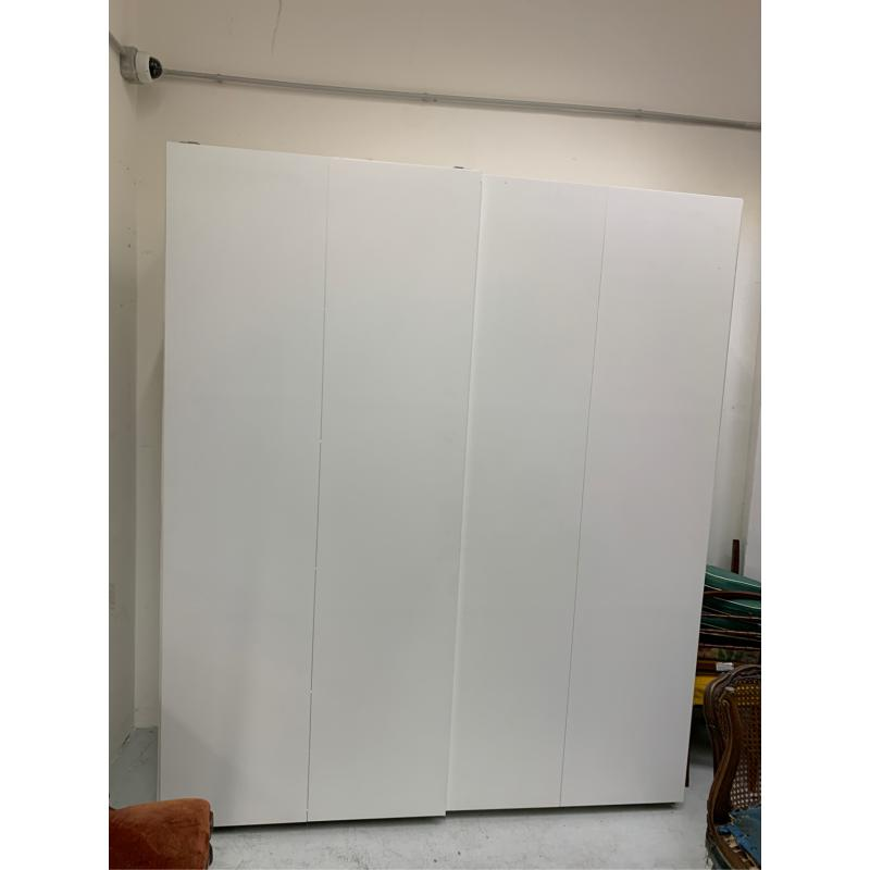 ARMADIO  IKEA  2/A SCORR  BIANCO    Mercatino dell'Usato Roma somalia 1