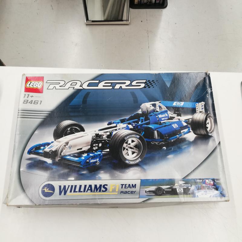 LEGO RACERS F1 WILLIAMS 8461   Mercatino dell'Usato Roma somalia 1